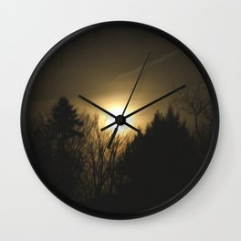 The Perfect Moon Wall Clock
