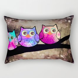 owl-432 Rectangular Pillow