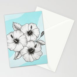 Hibiscus Sea Stationery Cards
