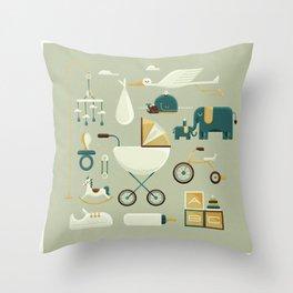 Baby's Nursery Throw Pillow
