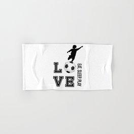 Eat, Sleep, Play  Love Volleyball Hand & Bath Towel
