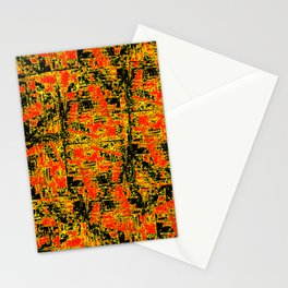 Golden Red Stationery Cards