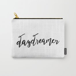 Daydreamer —Black Carry-All Pouch