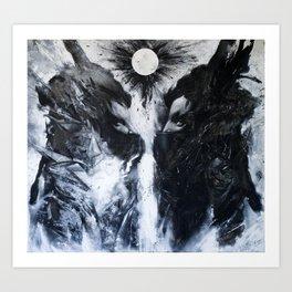 Guardians , threshold Art Print