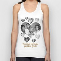golden girls Tank Tops featuring The Golden Girls by BeeJL