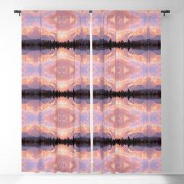 Rose Quartz Turbulence Blackout Curtain