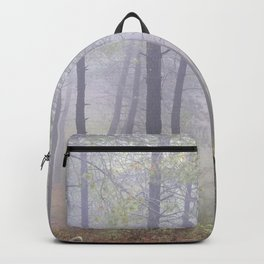 """""""Deep forest"""". Into the foggy woods.... Backpack"""