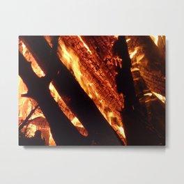 Fire Light Metal Print