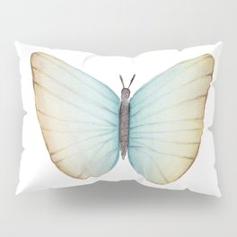 Butterfly watercolor Pillow Sham