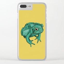 Martian Toad Clear iPhone Case