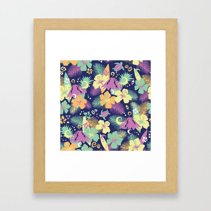 Honolulu Framed Art Print
