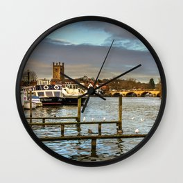 Henley on Thames Riverside Wall Clock