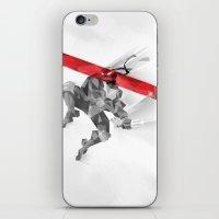 ninja iPhone & iPod Skins featuring NINJA by mobokeh