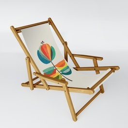 Whimsical Bloom Sling Chair