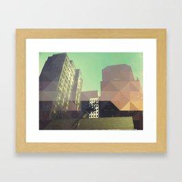 SHAPED UP Framed Art Print