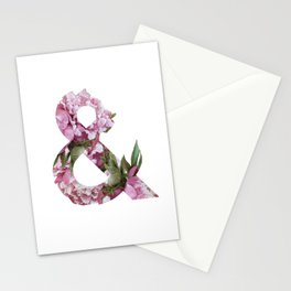 & peonies Stationery Cards