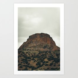 Cabazon Peak IV Art Print