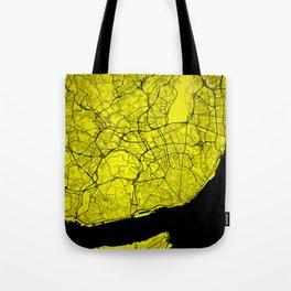 Lisboa map Tote Bag