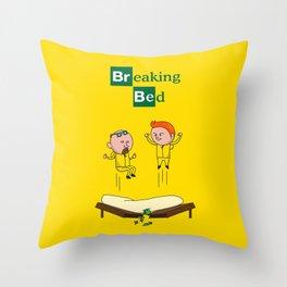 Breaking Bad (Breaking Bad Parody) Throw Pillow