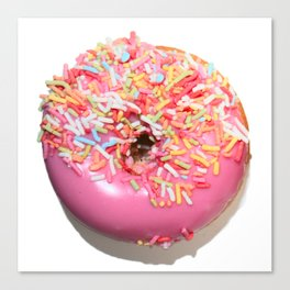 Craving Krispy Cremes Pink Canvas Print