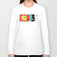 emoji Long Sleeve T-shirts featuring Target & emoji by Archerylife
