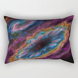 Life Particle Rectangular Pillow