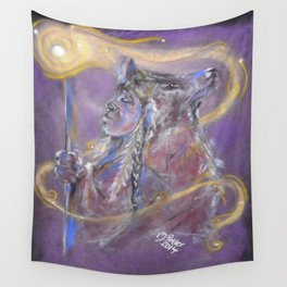 American Indian Spirit Guide Wall Tapestry