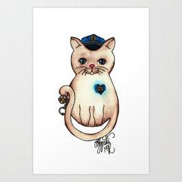 Icon Cats X Art Print