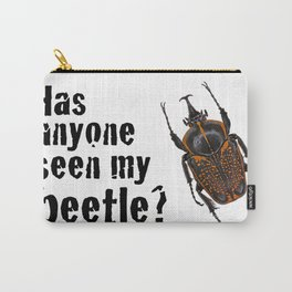 Beetle Search Carry-All Pouch