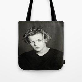 Leonardo DiCaprio Portrait Tote Bag