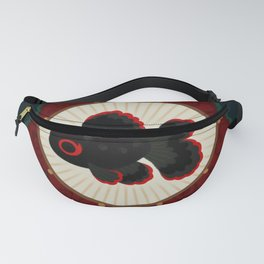 Butterfly goldfish Fanny Pack