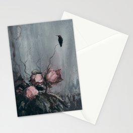 Nevermore (dark hummingbird) Stationery Cards