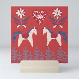 Swedish Christmas 2 Mini Art Print