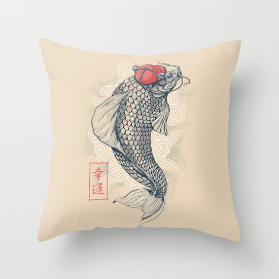 Americanized Throw Pillow