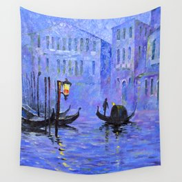 Lilac Night Wall Tapestry