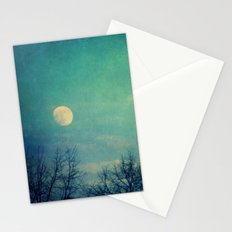 Ice Moon Stationery Cards