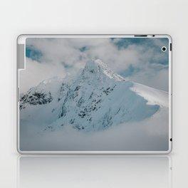 White peak - Landscape and Nature Photography Laptop & iPad Skin