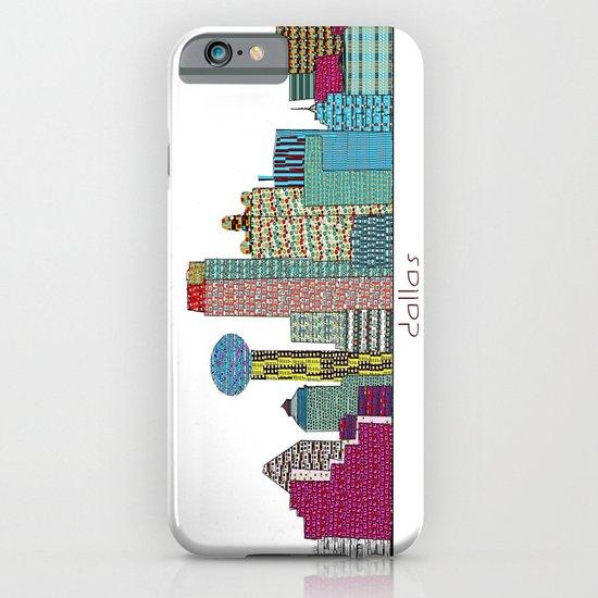 Dallas city  iPhone & iPod Case