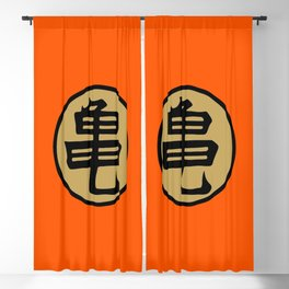Kame kanji Blackout Curtain