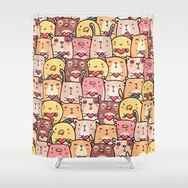 Sweet Pets Shower Curtain