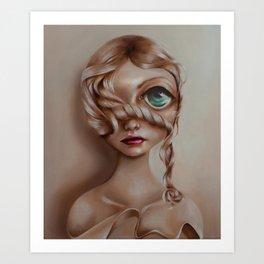 Miss Vanilla Art Print