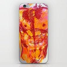 male torso summer iPhone & iPod Skin