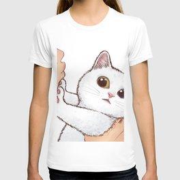 Don't kiss me, human T-shirt