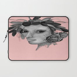 THE INDIAN WOMAN  / ORIGINAL DANISH DESIGN bykazandholly  Laptop Sleeve