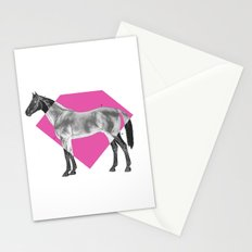 Horse Diamond Stationery Cards