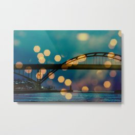 Hoan Bridge Metal Print