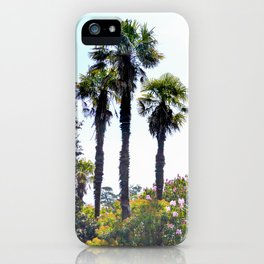 The Lost Gardens of Heligan - Palm Trees iPhone Case
