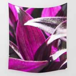 purple leaves Wall Tapestry
