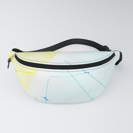 Abstract, Watercolor Fanny Pack