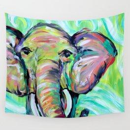 Elephant 2 Wall Tapestry